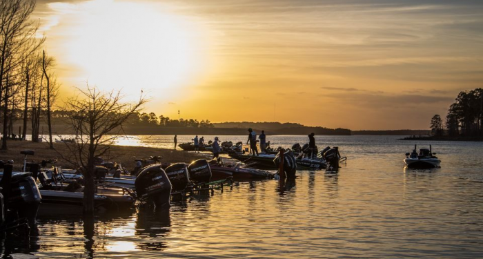 Texas Bass Fishing with Hall and Hall Loan Officer Adam Deakin