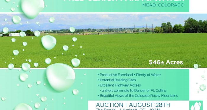 Colorado Ranch and Farm Auction